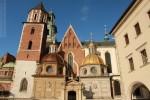 Widok na Kaplicę Zygmuntowską