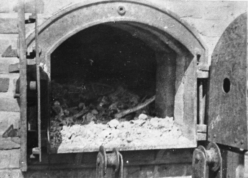 Piec z krematorium na Majdanku w Lublinie